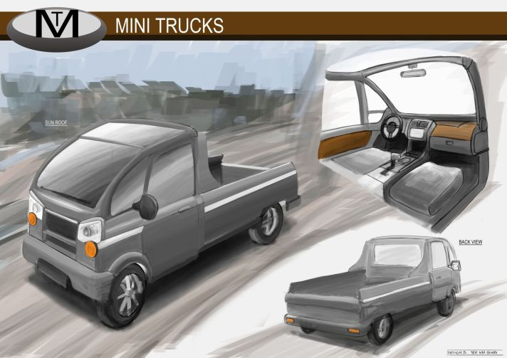 Concept Vehicle Mini Trucks 03