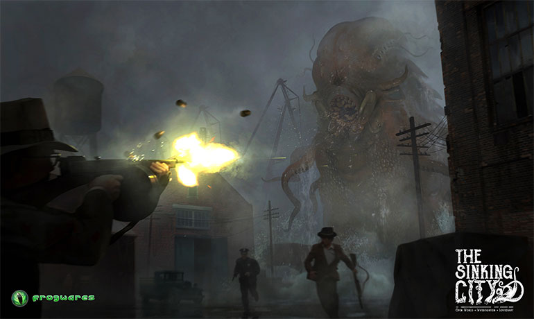 The Sinking City Lovecraft Horror Game by Frogwares